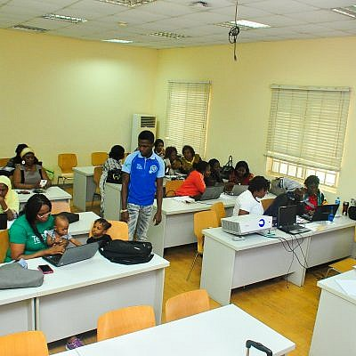 TechHerNg collaborates with WikiLovesWomen on Training women on how to write on Wikipedia. 2