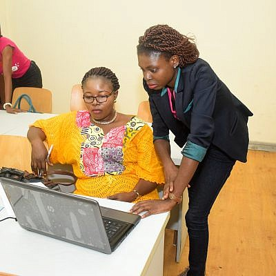 TechHerNg collaborates with WikiLovesWomen on Training women on how to write on Wikipedia. 3