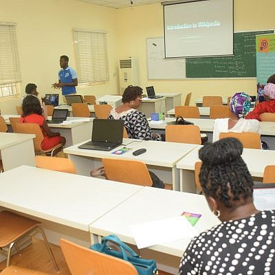 TechHerNg collaborates with WikiLovesWomen on Training women on how to write on Wikipedia. 6